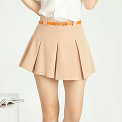 Romantica - Pleated A-Line Skort
