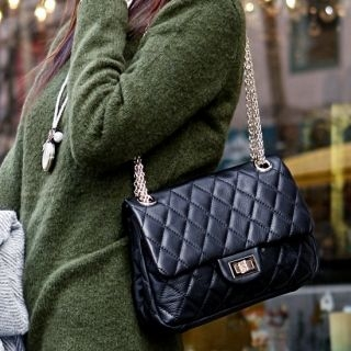 The Salon - Padlock Quilted Clutch