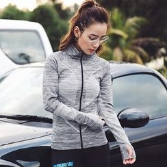 Sylphlike Loli - Melange Sports Zip Jacket