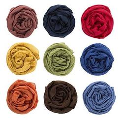 DEARIE - 兒童純色圍巾