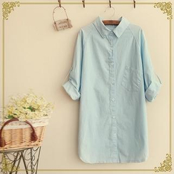 Fairyland - Tab-Sleeve Long Shirt