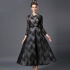 Ovette - Lace Maxi Dress