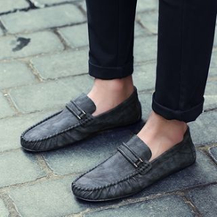 Shino - Paneled Moccasins