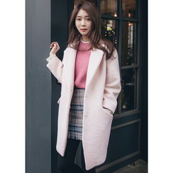Chlo.D.Manon - Drop-Shoulder Snap-Button Coat