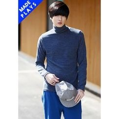 PLAYS - Turtle-Neck Knit Top