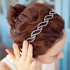 Diplet - Rhinestone Hair Band