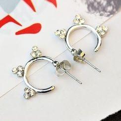 HEDGY - Rhinestone Swing Earrings