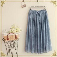 Fairyland - Drawstring Maxi Skirt