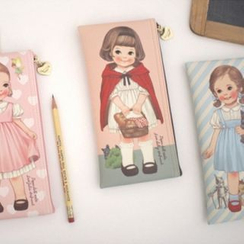 iswas - 'Paper Doll Mate' Series Story Pencil Case