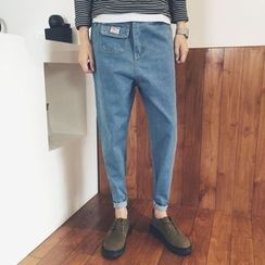 子俊 - 口袋錐形牛仔褲