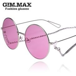 GIMMAX Glasses - Colored Lens Round Sunglasses