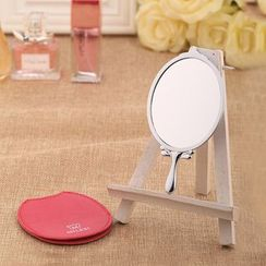 MILESI - Bear Hand Mirror with Case