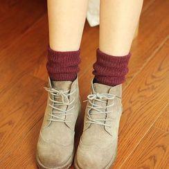Socka - 加厚保暖羊毛中筒襪