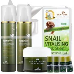 DEWYTREE - Ultra Vitalizing Snail Set B : Skin 150ml + Emulsion 150ml + Cream 80ml