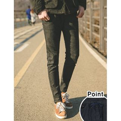 STYLEMAN - Elastic-Waist Jeans