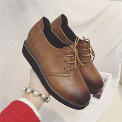 kokoin - 內增高繫帶鞋