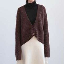 ELLY - Loose Fit Thick Cardigan