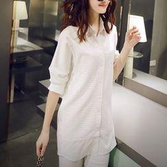 Bornite - 纯色长衬衫