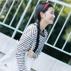 Tabla - Striped Long-Sleeve T-Shirt