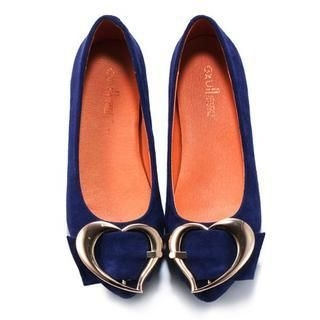 Exull - Heart-Buckle Flats