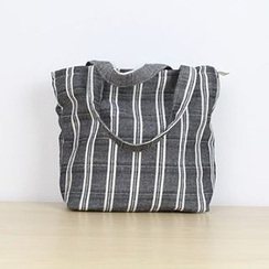 Ms Bean - Striped Shopper Bag