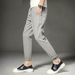 KANGI - Plain Jogger Pants