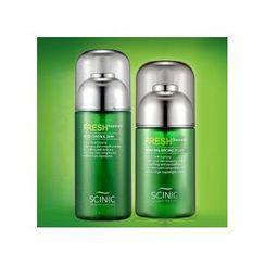 SCINIC - Fresh Homme Set : Pore Control Skin 190ml + Pore Balancing Fluid 145ml