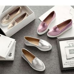 Freesia - Platform Loafers
