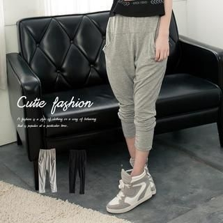 CUTIE FASHION - Cropped Harem Pants