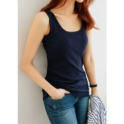 J-ANN - Sleeveless Ribbed Top