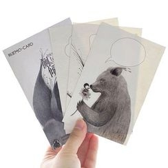 Cute Essentials - Scratch Off Greeting Card Set