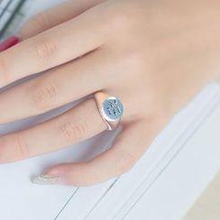 A'ROCH - 925纯银字母纯银指环