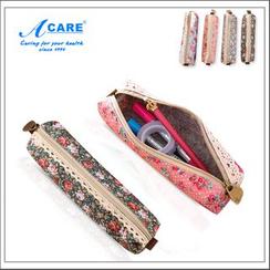 Acare - Floral Print Pencil Case