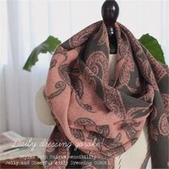 GOROKE - Paisley-Patterned Scarf
