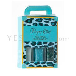 Hope Girl - Nail Travel Bling Bling Set #Sugar Mint