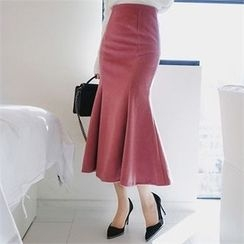 Babi n Pumkin - Zip-Back Maxi Skirt