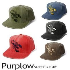Purplow - Embroidered Cap