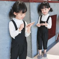 Matatabi - Kids Striped Jumper Pants