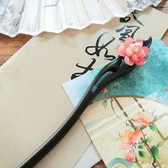 Kiyoha - Flower-Accent Hair Stick