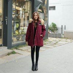 Envy Look - Faux-Fur Hooded Parka