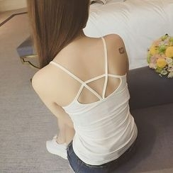 Ladie's Den - Backless Camisole Top
