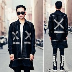 Simsam - Printed Long Shirt