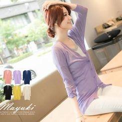 Tokyo Fashion - 3/4-Sleeve Cardigan