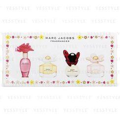 Marc Jacobs - Miniature Coffret: Daisy 4ml + Oh, Lola! 4ml + Dot 4ml + Daisy So Fresh 4ml