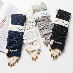 LA SHOP - Dotted Driving Gloves