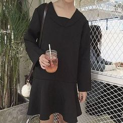 Cloud Nine - Long-Sleeve Ruffle Dress