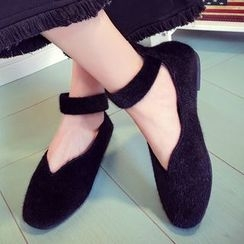 QQ Trend - Strapped Flats