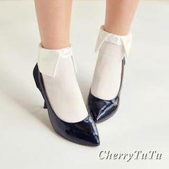 CherryTuTu - Socks with Collar