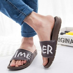 Shibu - Couple Matching Letter Slippers