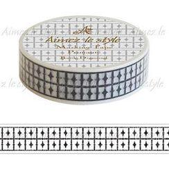 Aimez le style - Aimez le style Masking Tape Primaute Regular Batik Diamond